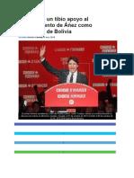 Canadá Da Un Tibio Apoyo Al Nombramiento de Áñez Como Presidenta de Bolivia