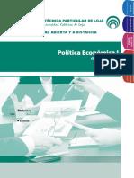 Guía Politica Economica