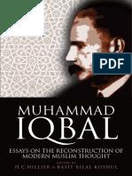H. C. Hillier, Basit Bilal Koshul - Muhammad Iqbal_ Essays on the Reconstruction of Modern Muslim Thought-Edinburgh University Press (2017)