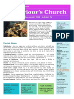 st saviours newsletter - 22 dec 2019 - advent 4