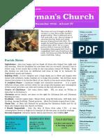 st germans newsletter - 22 dec 2019 - advent 4