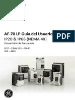Variador - Af-70 Lp User Manual v1_0