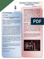 Newsletter 12 12 19