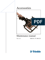 Trimble maintenance manual