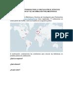 ÁREAS DE OPORTUNIDAD PARA LA VINCULACIÓN DE SERVICIOS BIBLIOTECARIOS Y DE INFORMACIÓN PARLAMENTARIOS