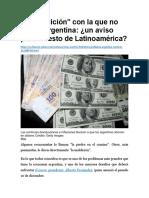 La Maldición de Argentina