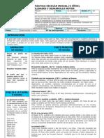 Sesion Practica Escolar Inicial (Habilidades y Destrezas Motoras)