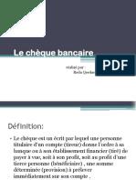 cheque bancaire.pptx