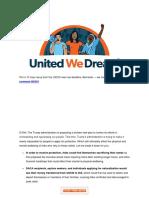 UWDA - 10 Days Away!! USCIS Fee Deadline