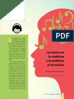 la musica en la medicina y la medicina en la musica