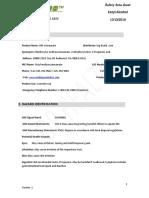 TOPHEALTH SUNOF+ Ethylhexyl-p-methoxycinnamate, 2-ethylhexy msds