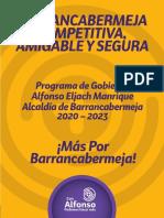 Programa de Gobierno - Alfonso Eljach Manrique 2020 - 2023_0