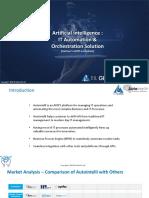 AI - IT Automation & Orchestration