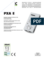 Aermec_PXA_E_INSTALLATION_MANUAL_Eng
