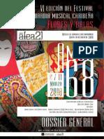 DOSSIER  VI edición Flores y Balas 2018 en versión electrónica