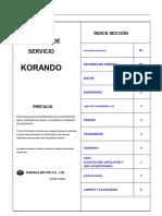Daewoo Korando (1996-2004) Manual de Taller