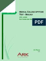 b04. MCAT Uhs Past Papers Unit Wise - Biology