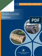 Durable Concrete Pipeline