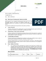 Work Order-foundation bolt