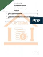 Macro 1 - National Income and Accounting