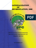 Operationalization of Grid Code Regulation
