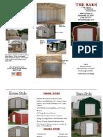 Barn Catalog Sept 2019
