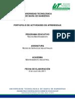 PEA Redes de Servicios Industriales