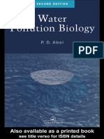 WATER POULLTION BIOLOGY
