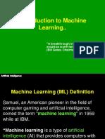Lecture21 22 ML Basics