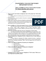 15A04802-Low Power VLSI Circuits & Systems -Two Marks Q&A-5 Units.docx