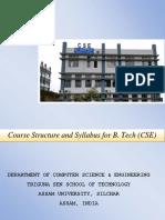 b.tech(Cse) Syllabus 2016