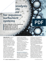 Speciality Chemicals Magazine - Texture Analysis of Cosmetic