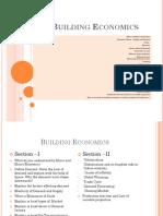 Building Economics for Architecture PPT (f)