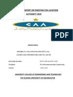 Caa Report 2019 by Ahsan Khalil