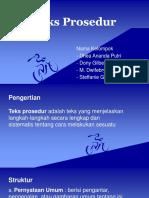 Teks Prosedur B.Indonesia kelas 11 SMA