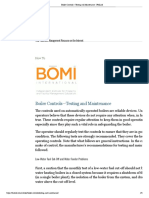 LowPriority_Boiler Controls—Testing and Maintenance - FMLink