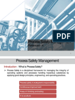 Process Safety Management (PDF)