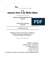 Thomas Retzlaff v Jason Lee Van Dyke -US Supreme Court - Retzlaff Emergency Mtn to Stay Mandate