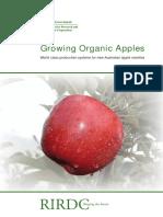 Growing Organic Apples