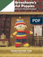 Jean Greenhowe - Playful Puppies Knitting Book