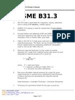 B 31.3