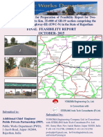 Combined Feasiblity Report_two laning from nagaur to Tarnau in the State of Rajasthan.pdf