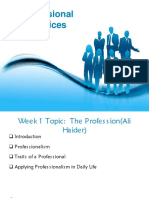 Week 1 (The Profession).ppt