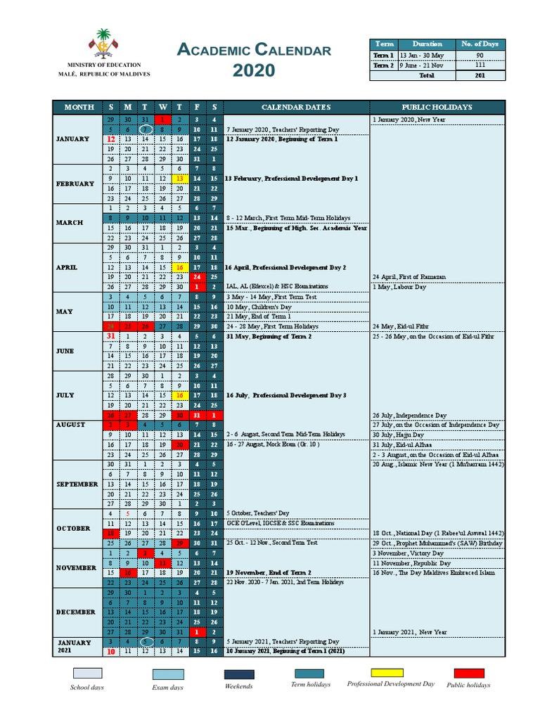 Csuf Academic Calendar 2022.Calendar 2021 Academic Calendar 2021 Maldives