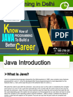 Java Training Course in Delhi