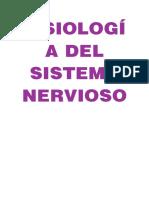 Fisiología sistema nervioso