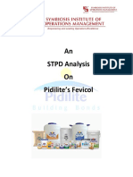 An STPD Analysis of Pidilite