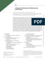 bone diseases in thalassemia