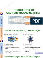 Introduction for gas turbine engine