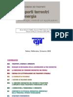 """Presentazione volume """"Energia e Trasporti"""" 16 marzo 2018 Politecnico di Torino"""